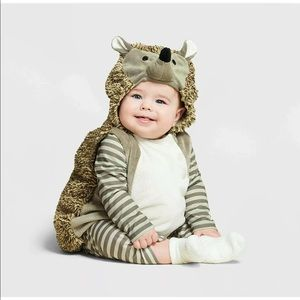 Hedgehog Baby Plush Pullover Costume 0-6 Months